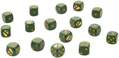 1st Cavalry Division Airmobile Dice Set (16)