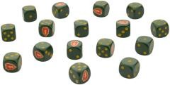 Tropic Lightning Dice (16)