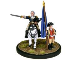 Washington and the Continental Army Standard