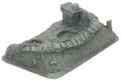German 105mm Artillery Staff Team Base