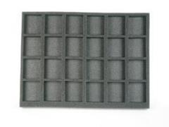 "1"" 24 Large Model Foam Tray"