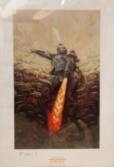 Boba Fett - Fall of a Bounty Hunter (Unnumbered Artist Proof, Matted)
