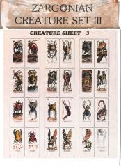 Creature Set #3 - Arachnids and Insects