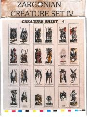 Creature Set #4 - Hellhounds and More!