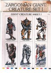 Giant Creatures Set #1 - Giants