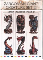 Giant Creatures Set #3 - Nagas and More!