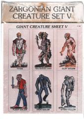 Giant Creatures Set #5 - Giants & Golems