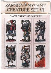 Giant Creatures Set #6 - Demons