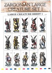 Large Creature Set #1 - Mythical Creatures #1