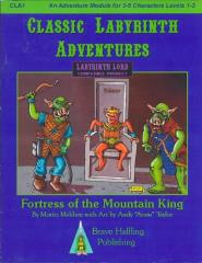 Labyrinth Lord - Fortress of the Mountain King (1st Printing)