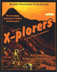 X-Plorers (Prototype Cover, Printer Proof)