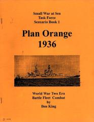 Task Force Scenario Book #1 - Plan Orange 1936