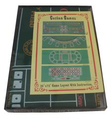 Blackjack/Craps Felt