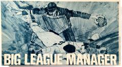 Big League Manager Baseball Game (1963 Edition)