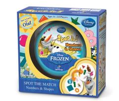 Spot It! Numbers & Shapes (Frozen Edition)