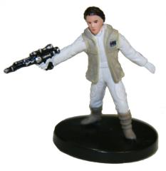 Princess Leia, Hoth Commander