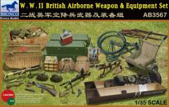 WWII British Airborne Weapon & Equipment Set