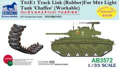 "T85E1 Track Link (Rubber Type) for M24 Light Tank ""Chaffee"""