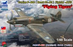 "Curtiss P-40C (Hawk 81-A2) Fighter ""Flying Tiger"""
