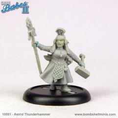 Astrid - Dwarf Priestess