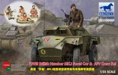 Humber Mk.1 Scout Car & AFV Crew Set
