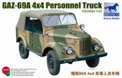 GAZ-69A 4x4 Personnel Truck