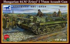 """Hungarian 44.M """"Zrinyi"""" I 75mm Assault Gun"""
