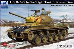 "U.S. Light Tank M-24 ""Chaffee"" - Korean War"