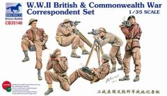 British & Commonwealth War Correspondent Set