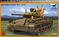"French M24 ""Chaffee"" - Indochina War"
