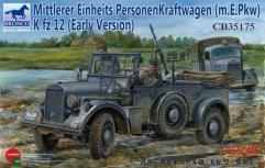 Mittlerer Einheits PersonenKraftwagen (m.E.Pkw) Kfz 12 - Early Version