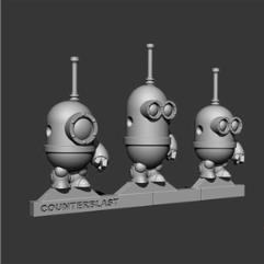 MInE Bots w/Weapons