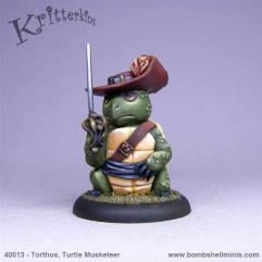 Torthos - Turtle Musketeer