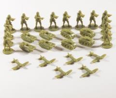 Battle Set - Marines, Olive Drab