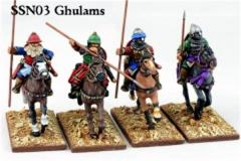 Ghulams - Mounted, Hearthguard