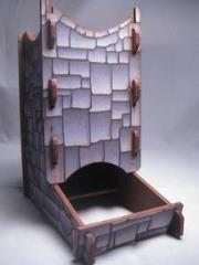 Knockdown Dice Tower - Stone Finish