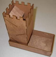 Dice Tower - Birch