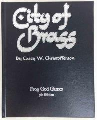 City of Brass (5e) (Limited Leather Bound Edition)