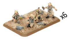 Mortar Platoon - 8th Army (Plastic)