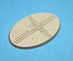 105x70mm Beveled Base - Ruined Temple