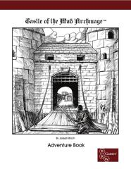 Castle of the Mad Archmage - Adventure Book