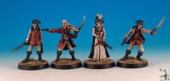 Elf Pirates #2 (Resin)