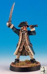 Navy Captain (Resin)