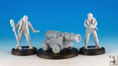 Cannon w/Crew (Resin) (2nd Edition)