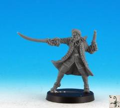 Privateer Officer (Resin)