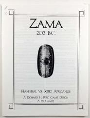 Zama 202 B.C. - Hannibal vs. Scipio Africanus