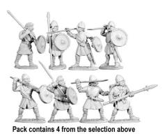 Unarmored Spearmen #2