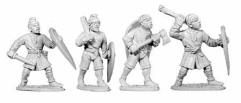 Unarmored Normans w/Hand Weapons