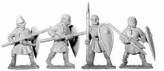 Unarmored Spearmen #1