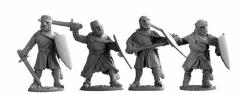 Dismounted Knights w/Swords